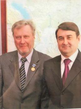 Яковлев В.М. с министром транспорта Левитиным И.Е.